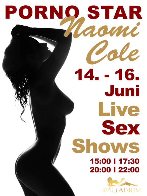 Flyer Naomi - Palladium The Club - Sex Club