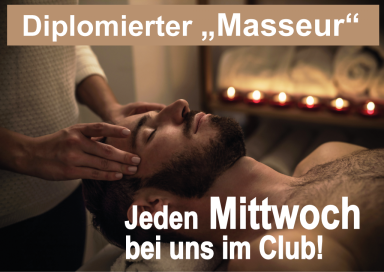 Diplomierter Masseur im Palladium The Club - Sex Club
